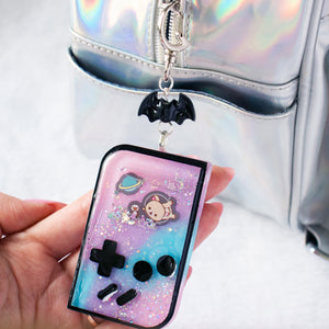 Rila Galaxy Gameboy Shaker Charm