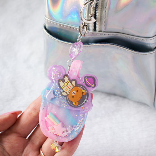 Rila Galaxy Liquid Shaker Drink Charm