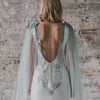 Palm Springs Dip Dye Bridal Cape