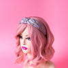 Bisous Lips Turban Headband