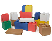 ON SPECIAL - 40% off while stocks last - Multi-Colour Cardboard Block Combo Pack (29)