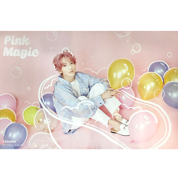 YESUNG | 예성 | PINK MAGIC | 3rd mini album | (version 1 pink) POSTER ONLY