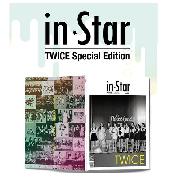 인스타 IN STAR 2019-6 [ TWICE SPECIAL EDITION ] KOREA MAGAZINE
