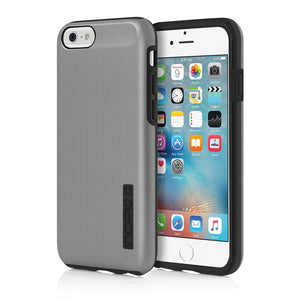 iPhone 6S Case, Incipio DualPro SHINE Case Cover for Iphone 6/6s - Gunmetal/Black - Equipment Blowouts Inc. Established 2005.