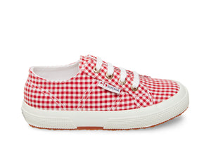2750 COTGINGHAMJ RED GINGHAM