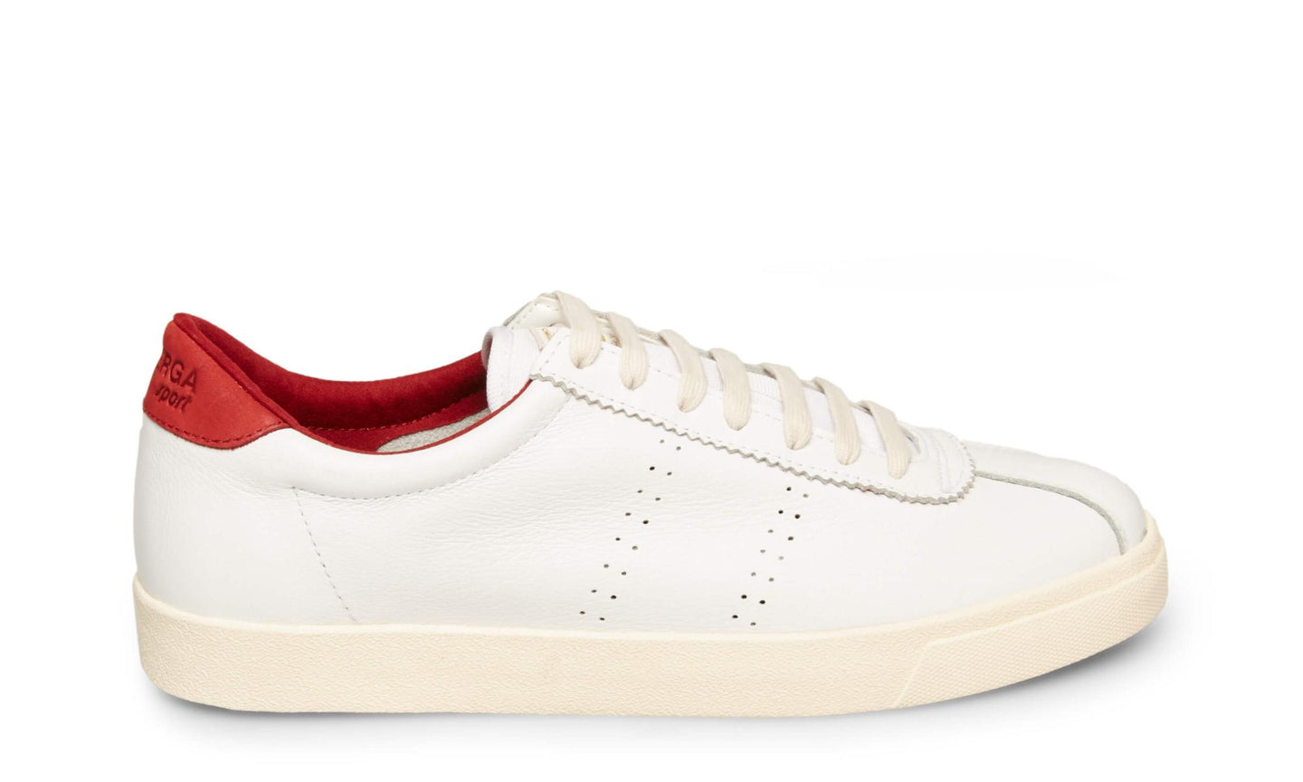 2843 COMFLEAU WHITE RED - Men's