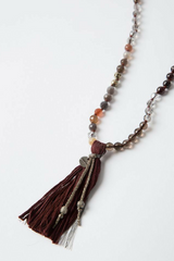 The Garnet Mix Necklace