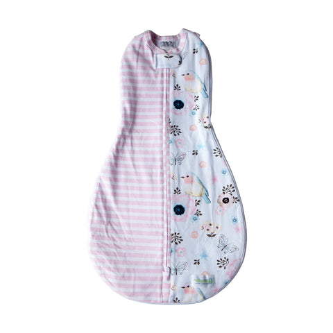 Grow With Me Woombie Birds and Stripes 0-18M