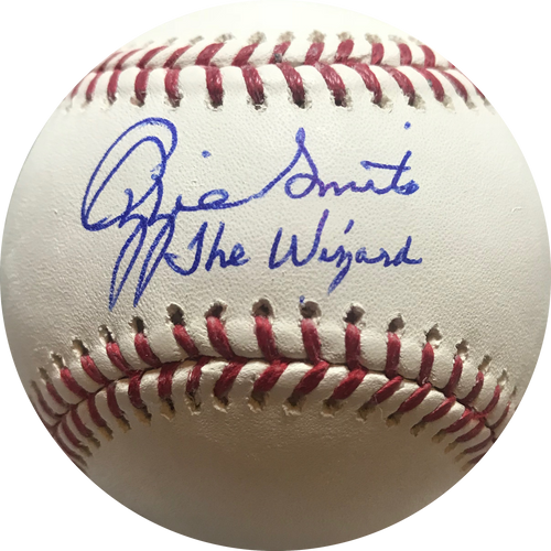 Ozzie Smith St. Louis Cardinals Autographed Official Major League Baseball (JSA COA)