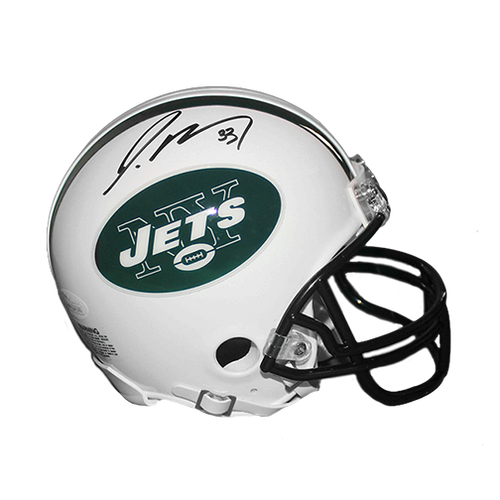 Jamal Adams Autographed New York Jets Mini Football Helmet (JSA COA)