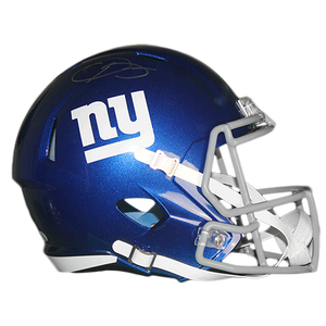 Odell Beckham Jr New York Giants Football Autographed Full Size Speed Helmet (JSA COA)
