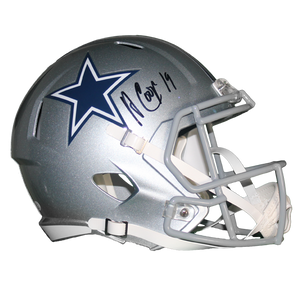 Amari Cooper Autographed Dallas Cowboys Full Size Speed Replica Helmet (JSA COA)