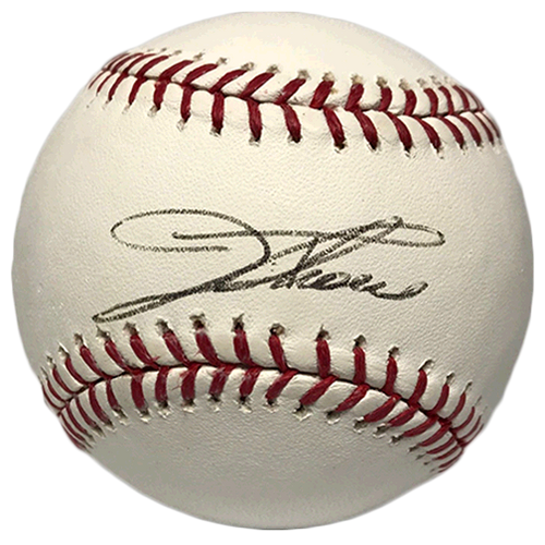 Jim Thome Autographed Official Major League Baseball (BECKETT COA)