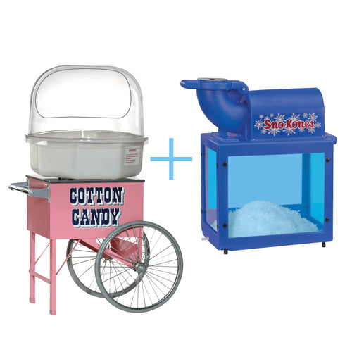 2 For 1 Deal (Cotton Candy with Snow Cones)