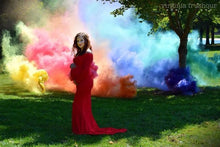 Red or Blue Smoke Grenade Now Available for gender reveals with 20 Cards