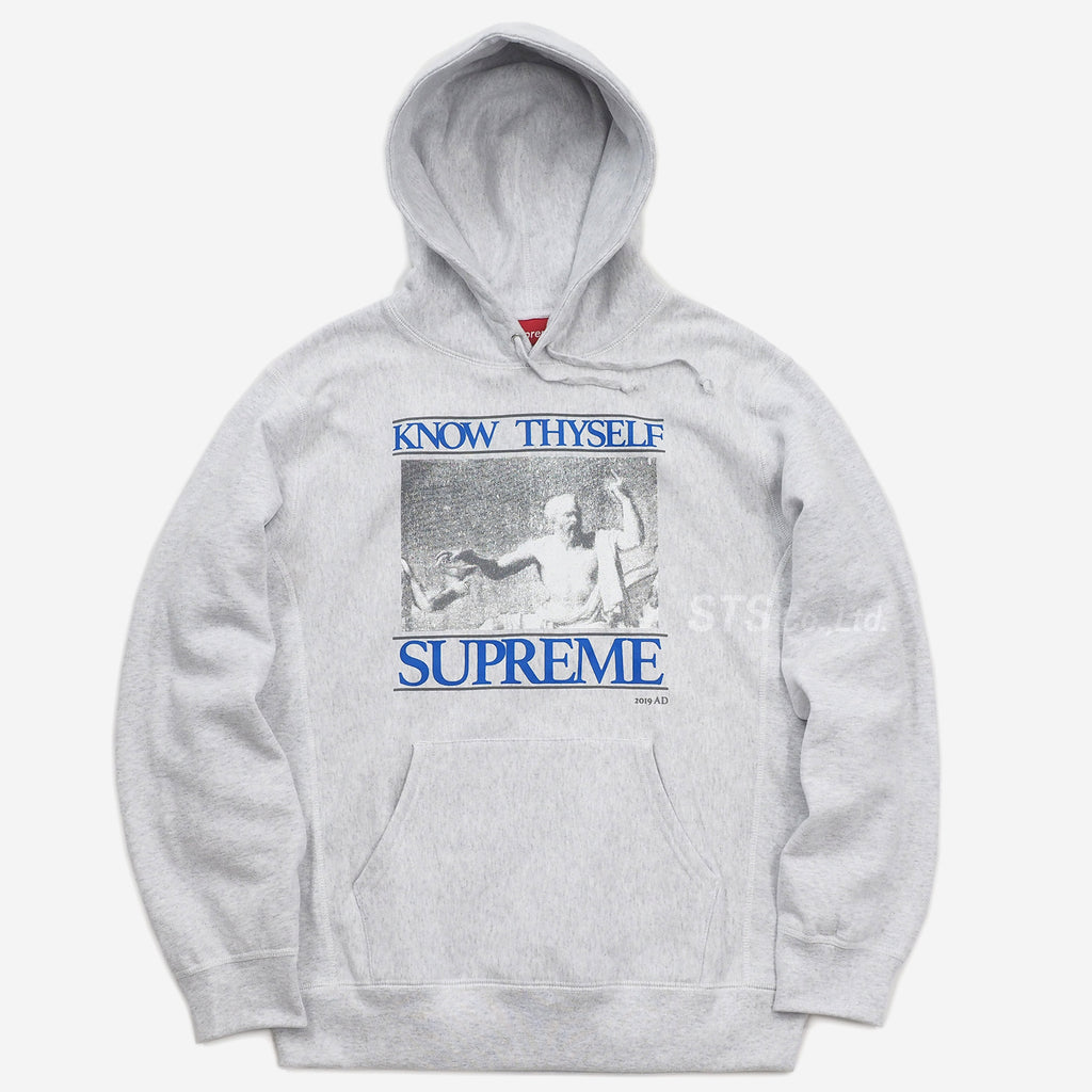 Know Thyself Hooded Sweatshirt