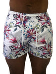 Tropical Floral Swim Shorts by Sinners Attire - Brit Boss