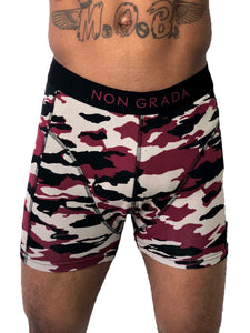 Men's Boxer Shorts Red By Non Grada - Brit Boss
