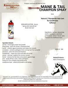 MANE AND TAIL CHAMPION SPRAY