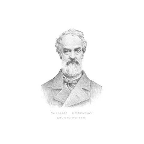 Fine Art Print | Pencil Portrait of William Brockway | Thieves and Scoundrels by David Birkey