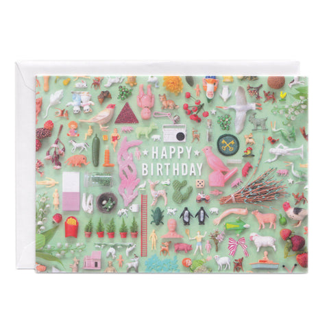 Tiny Things Birthday Collection Greeting Card