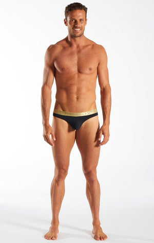 Cocksox - Sports Thong - Gold Shimmer, Underwear, Cocksox - Johnny Beach