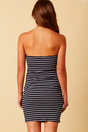 Cast Away Striped Dress