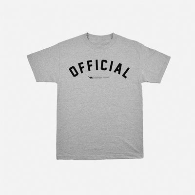 Dolo Arc Tee Heather Grey