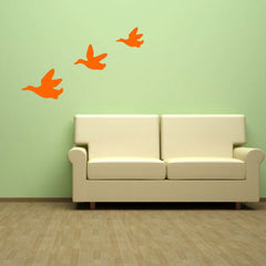 Flying Ducks Wall Stickers