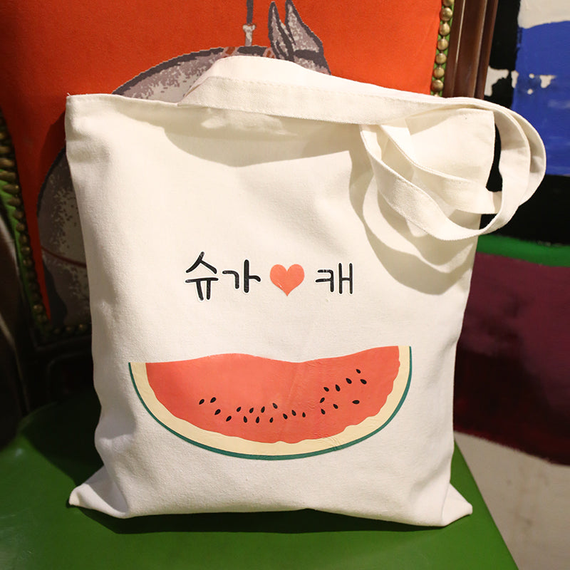 Eco-Friendly Canvas Fruit Shopping Bags - inno+ home-innoplus kitchen