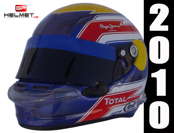 Mark Webber 2010 Replica Helmet / RB F1