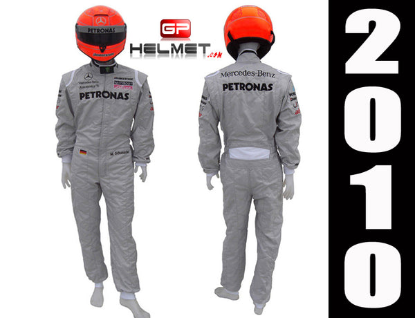 Michael Schumacher 2010 Racing Suit / Mercedes Benz F1