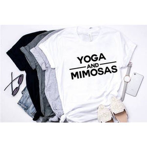 Yoga And Mimosas Top