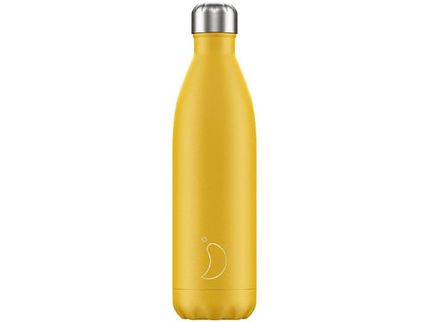CHILLY'S BOTTLE 750ml BURNT YELLOW MATTE EDITION