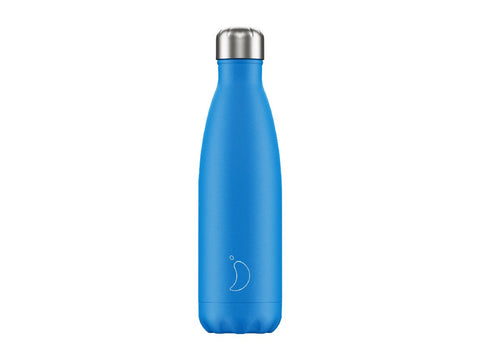 CHILLY'S BOTTLE 500ml BLUE NEON EDITION
