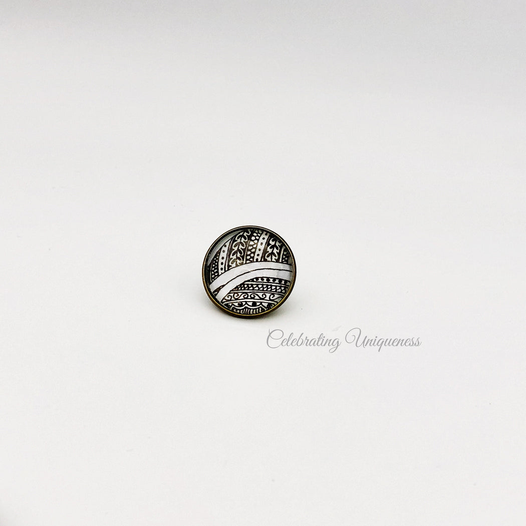 Removable Button, One of a kind gift - MeCelebratingU