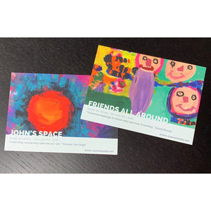 "Card ""Friends All Around"" - ""John's Space"""