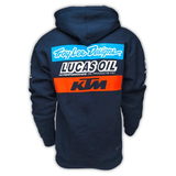Lucas oil Designs KTM Team Pullover Hoodie