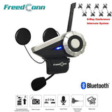 FreedConn Bluetooth Intercomm FreedConn T-Rex Motorcycle Bluetooth Helmet Intercom 1000M Waterproof