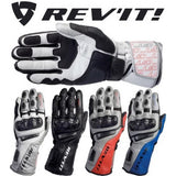 REV'IT! GT Corse Motorcycle Racing Sport Leather Gloves