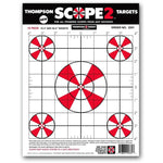 "Scope 2 Sight In 9""X12"" Paper Shooting Targets - 12 Pack (2331) (TMP-TR-002)"