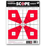 "Scope Alignment / Sight-In 9""X12"" Paper Shooting Targets - 12 Pack (3331) (TMP-TR-001)"