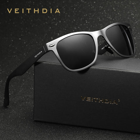 Unisex Aluminum Square Men's Polarized Mirror Sun Glasses Female Eyewears Accessories Sunglasses For Men VT2140 - Forefront Outfitters Inc.