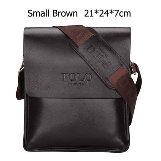 VICUNA POLO Famous Brand Leather Men Bag Casual Business Leather Mens Messenger Bag Vintage Men's Crossbody Bag bolsas male - Forefront Outfitters Inc.