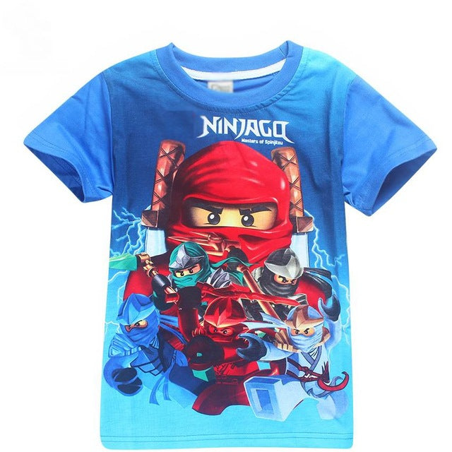 Blue Boys T-shirts Bobo Choses Boy Shirt Children T Shirt for Boy Tops Tees Boys Shirt Kids Clothes T-shirt - Forefront Outfitters Inc.
