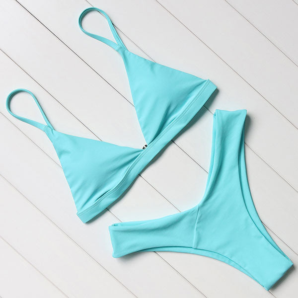 Women Swimsuit Sexy Push Up Micro Bikinis Set Swimming Bathing Suit Beachwear Summer Brazilian Bikini 2018 - Forefront Outfitters Inc.