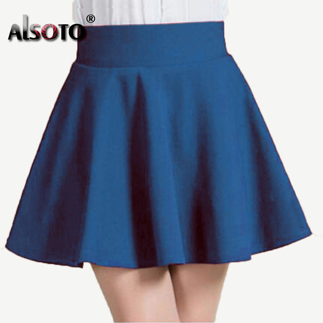 Winter and Summer style Brand women skirt elastic faldas ladies midi skirts Sexy Girl mini short skirts saia feminina - Forefront Outfitters Inc.