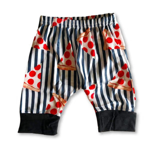 Striped Pizza Shorts