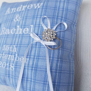 Wedding Ring Bearers Cushion - Memory Cushion - Memory Keepsakes