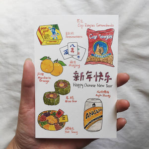 POSTCARD by Fish Koou Illustrations